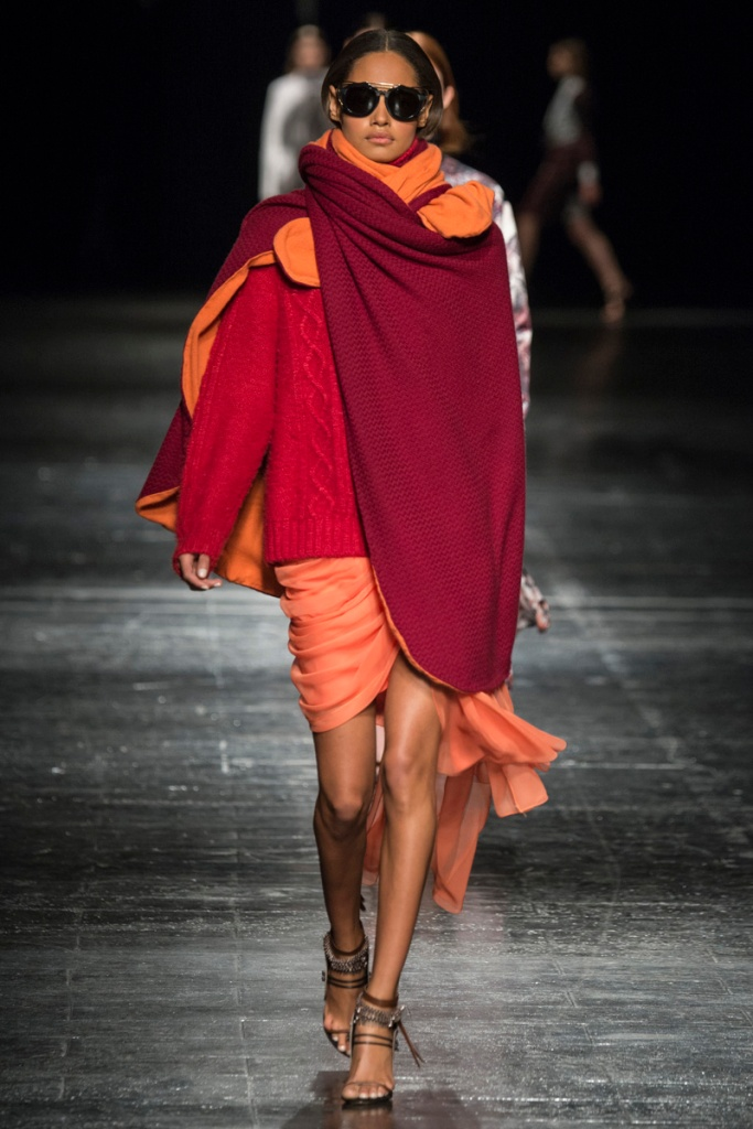 My favourite piece @ Prabal Gurung, FW14, MBFW