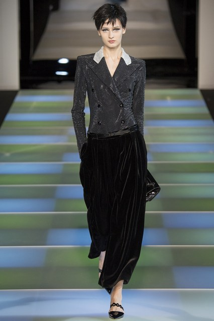 Emporio Armani, FW14, Milan Fashion Week