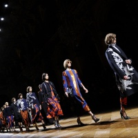 Fashion Story: Dries Van Noten, FW14, Paris Fashion Week