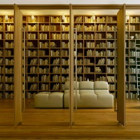 Stumbled Upon: Home Library!