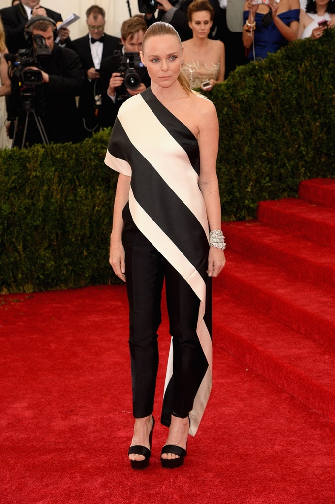 Stella McCartney in her own design