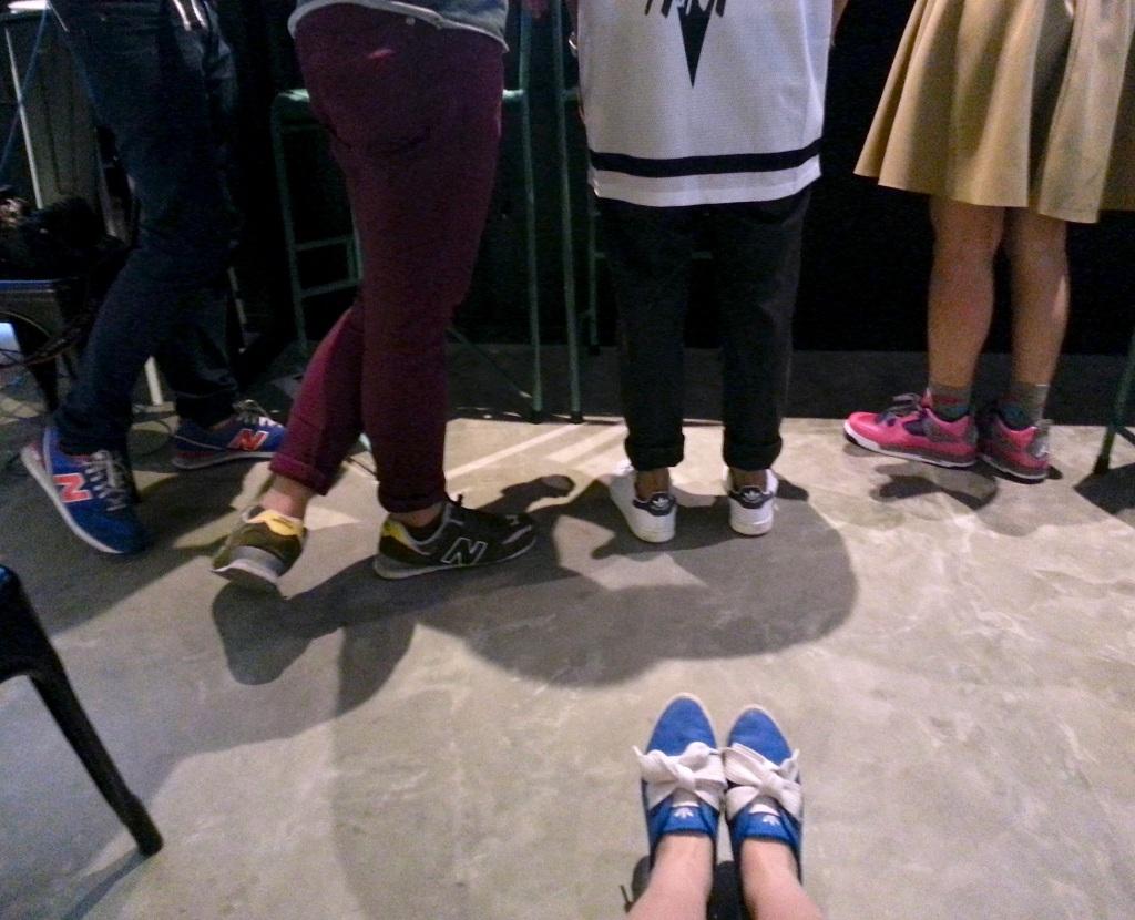 Bunch of Sneaker Freaks!