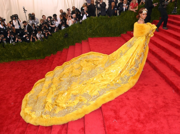 Rihanna in Guo Pei.