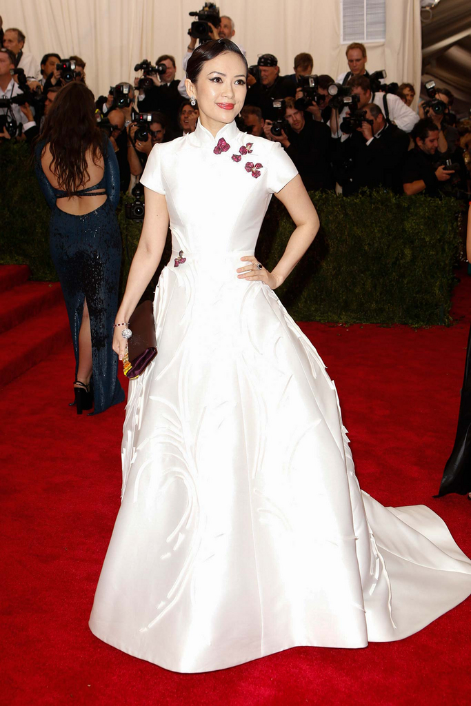 Zhang Ziyi in Carolina Herrera