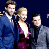 Perfecto: Jennifer Lawrence @ The Hunger Games: Mocking Jay Part 2 Tour