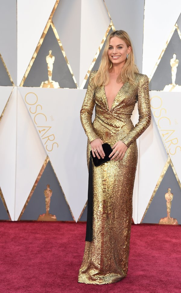 Margot Robbie in Tom Ford